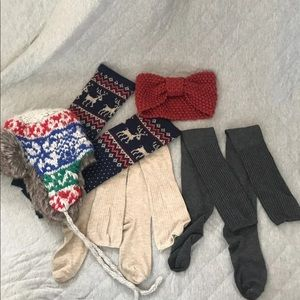 Winter Weather Lot - (5)